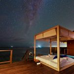 Açık Yatak Odası Water Villa, Coco Bodu Hithi Maldivler