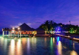 Akşam Manzarası, Adaaran Prestige Vadoo Maldives