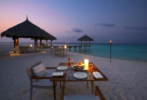 Beach Restaurant, Velassaru Maldives Resort