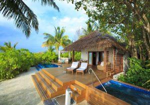 Beach Villa, Baros Maldivler