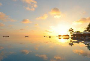 Gün Batımı, Velassaru Maldives Resort