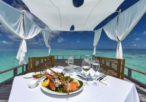 Özel Yemek Yeme Alanları, Baros Maldives