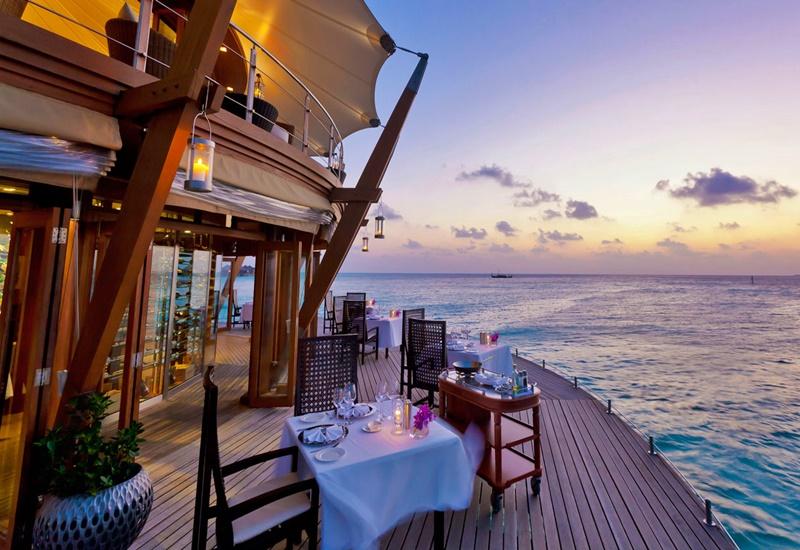 Su Üstü Restoran, Baros Maldives