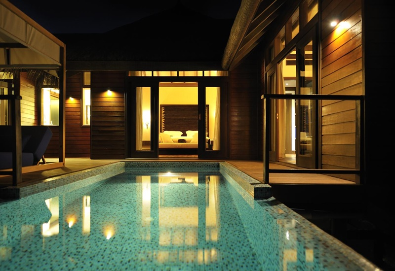 Water Villa Havuz, Coco Bodu Hithi Maldives