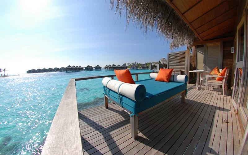 Açık Oturma Alanları, Anantara Veli Maldives Resort