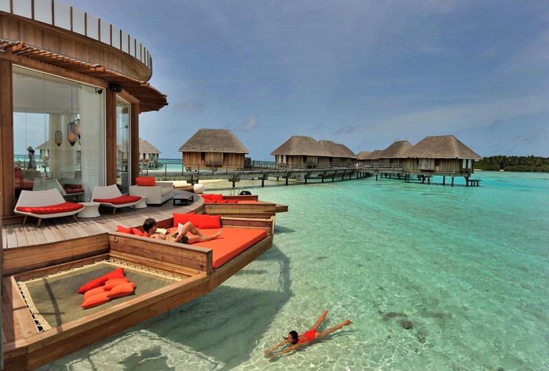 Açık Oturma Alanları, Ayada Resort Maldivler