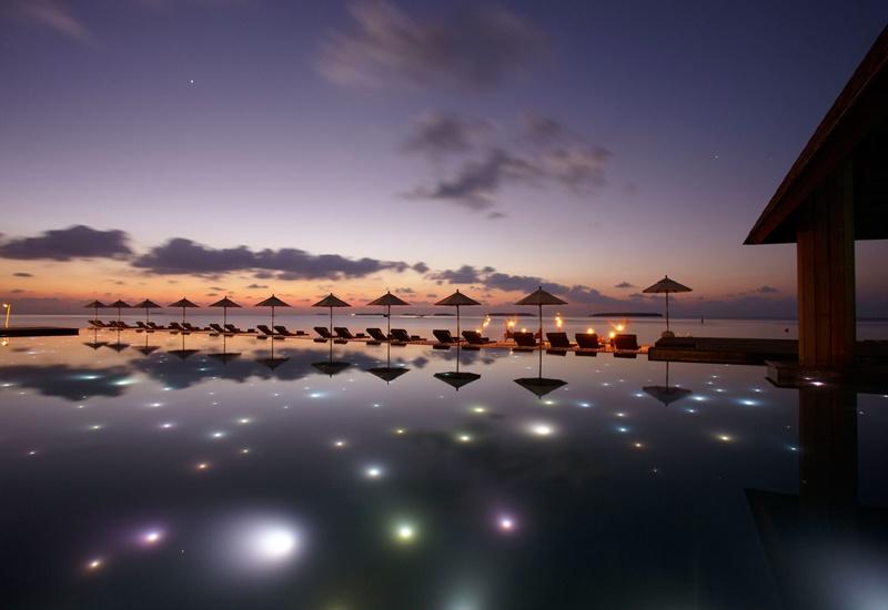 Akşam, Anantara Kihavah Maldives Villas