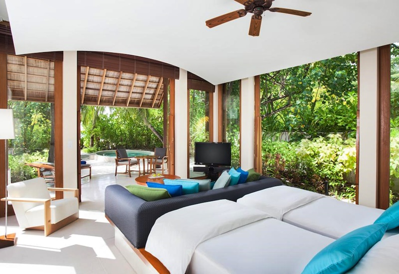 Bahçeli Odalar, Conrad Maldives Rangali Island