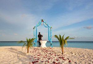 Balayı, Constance Halaveli Maldivler