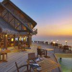 Cafe, Anantara Dhigu Resort Maldivler