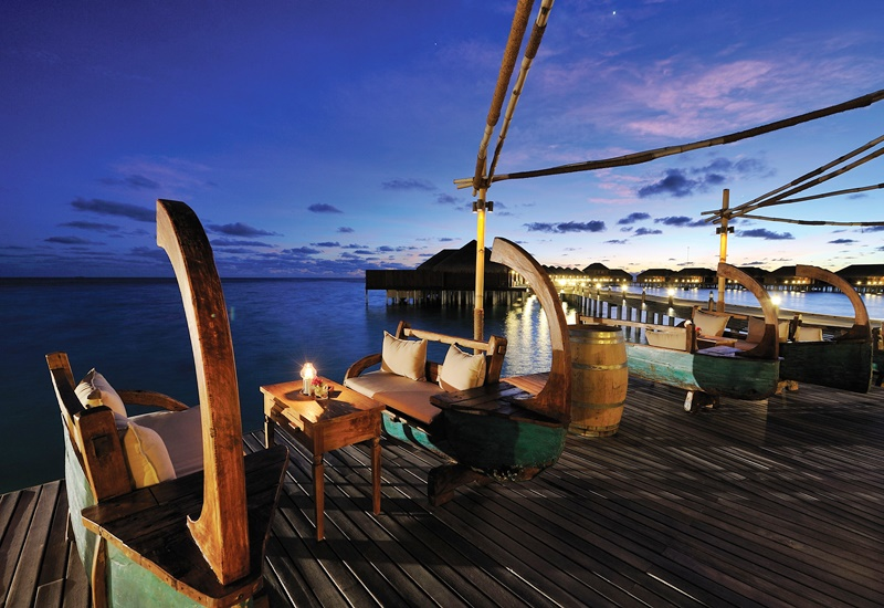 Cafe, Ayada Resort Maldivler