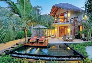 Garden Villa, Constance Halaveli Maldives