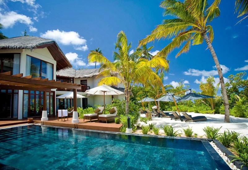 Garden Villa, Constance Halaveli Maldivler