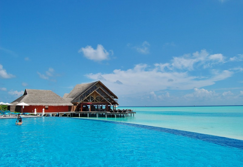Havuz, Anantara Veli Maldives Resort