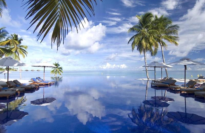 Havuz, Conrad Maldives Rangali Island