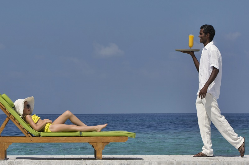 Hizmet, Anantara Dhigu Resort Maldivler