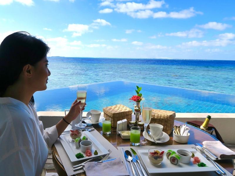 Honeymoon, Jumeirah Vittaveli Maldivler