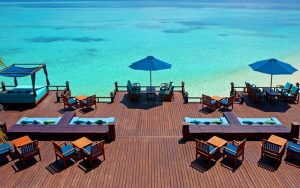Lagün Manzaralı Bar, Shareton Maldives Full Moon