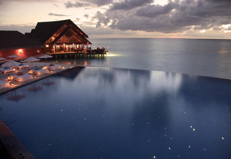 Manzara, Anantara Dhigu Resort Maldivler