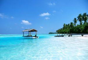 Okyanus Manzarası, Medhufushi Resort, Maldivler