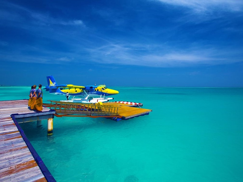 Deniz Uçağı, Medhufushi Resort, Maldivler