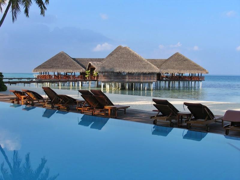 Medhufushi Island Resort Güneşlenme Alanları, Maldivler