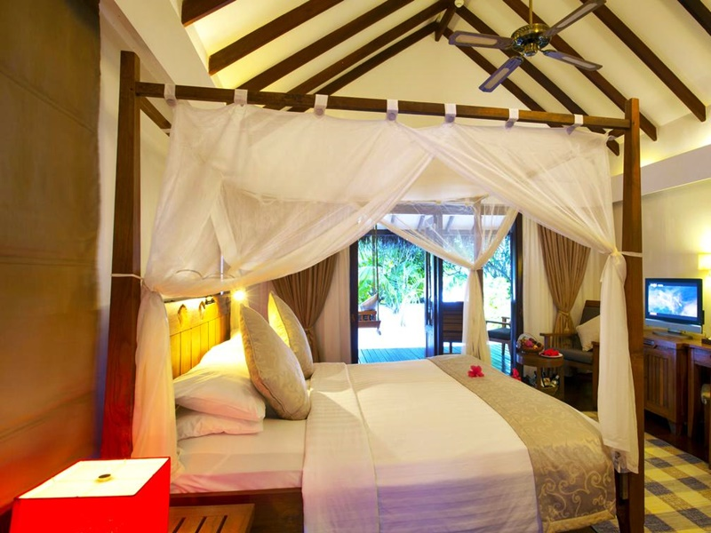 Medhufushi Resort Odaları, Maldivler