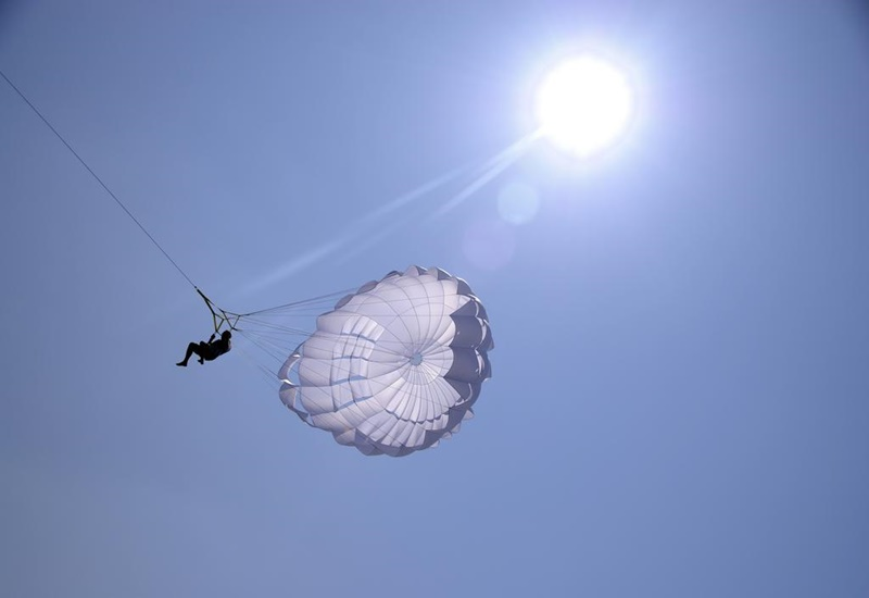 Paraşütle Atlama, Anantara Veli Maldives Resort