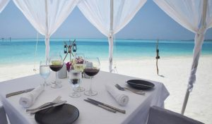 Restoran, Anantara Dhigu Resort Maldivler