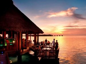 Restoran, Conrad Rangali Island Maldivler