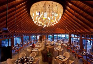 Restoran, Constance Halaveli Maldivler