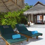 Şezlong, Anantara Dhigu Resort Maldivler