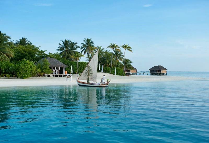 Tekne, Conrad Rangali Island Maldivler