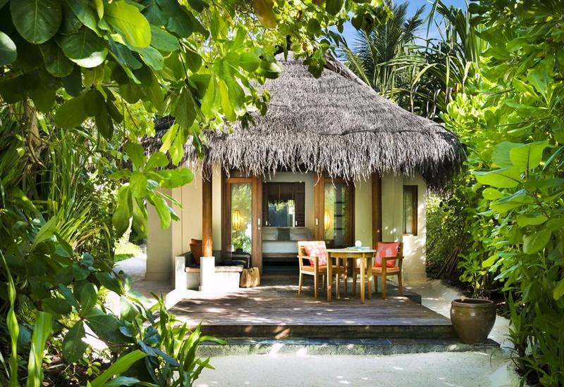 Villa, Anantara Dhigu Resort Maldivler