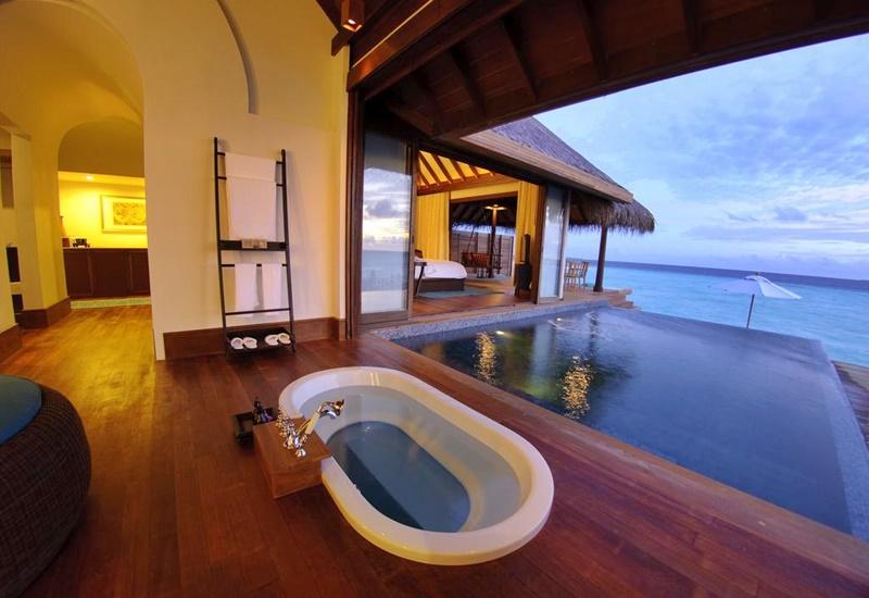 Villa, Anantara Kihavah Villas Maldivler
