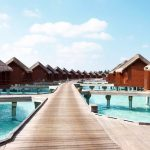 Water Bungalow, Anantara Dhigu Resort Maldivler