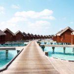 Water Bungalow, Anantara Dhigu Resort Maldivler