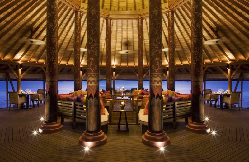 Water Restoran, Anantara Veli Maldives Resort