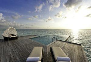 Water Villa, Conrad Rangali Island Maldivler