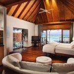 Water Villa Yatak Odası, Conrad Maldives Rangali Island
