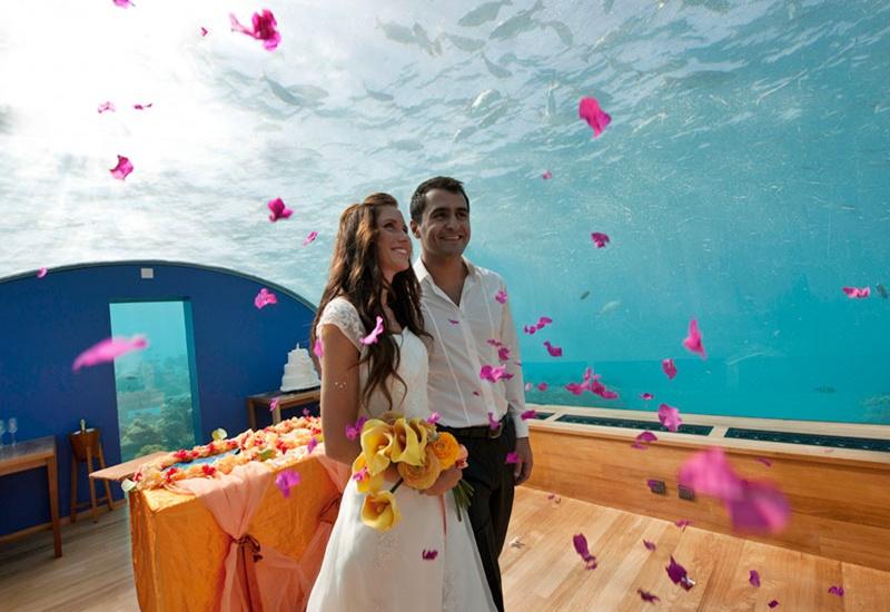 Wedding, Conrad Rangali Island Maldivler