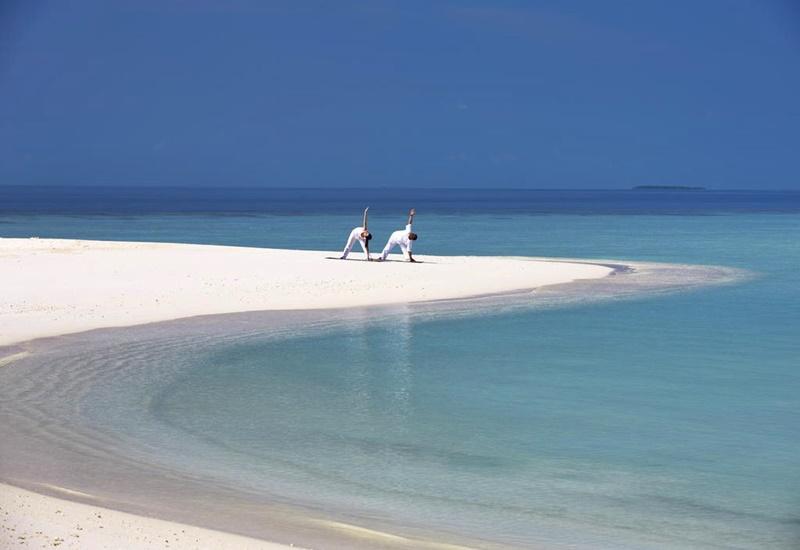 Yoga, Anantara Kihavah Maldives Villas
