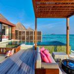 Açık Oturma Alanları Water Villa, Four Seasons Kuda Huraa Resort Maldives