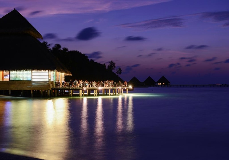 Akşam Manzarası, Adaaran Club Rannalhi Maldives