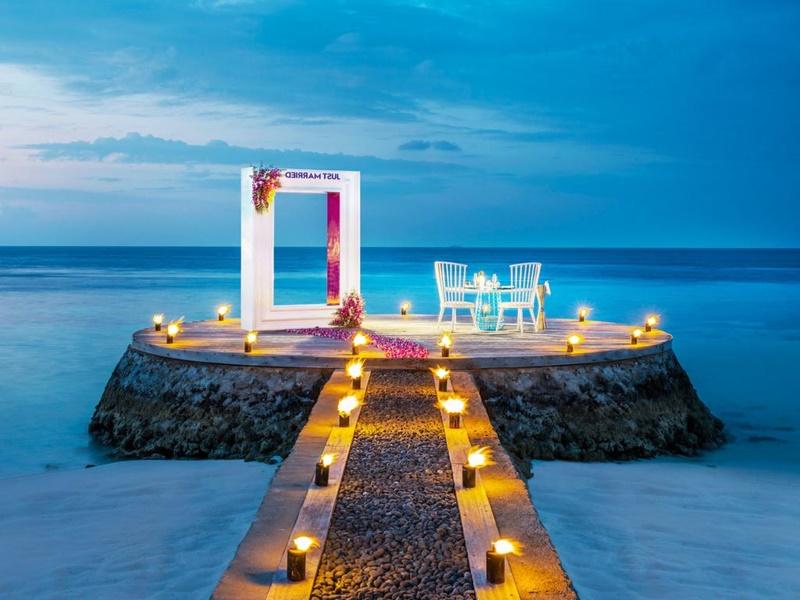 Akşam Yemeği, W Retreat, Maldivler