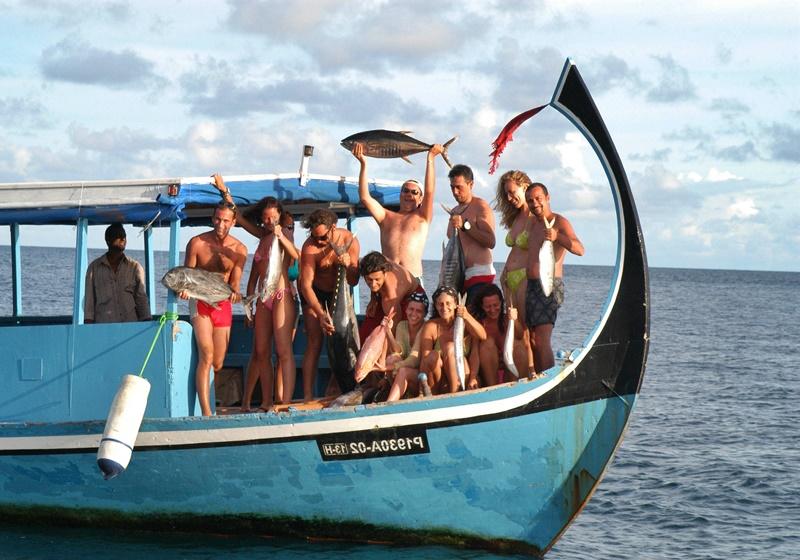Balık Tutma, Adaaran Club Rannalhi Maldives