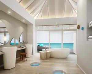 Banyo, Lux Resort Maldivler