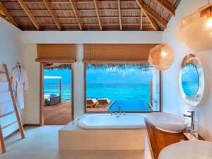 Banyo, W Retreat, Maldivler
