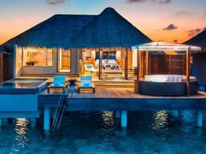 Bungalow Evleri, W Retreat, Maldivler