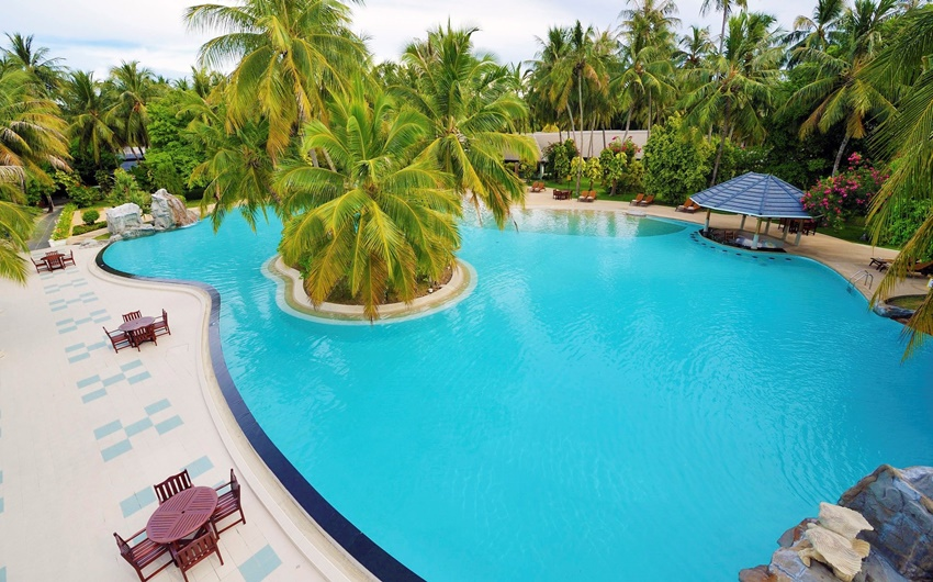 Havuz, Sun Island Resort Maldives